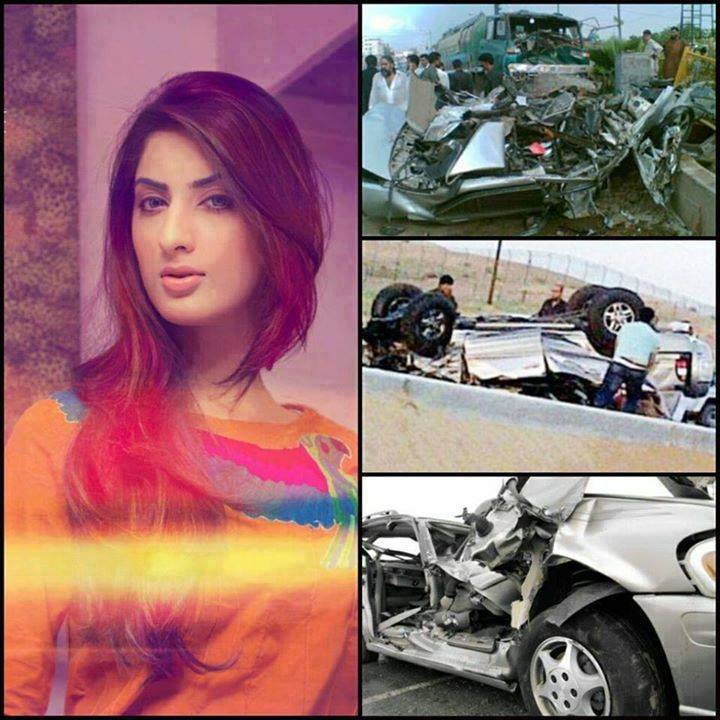 Pakistani Actress-Sana Khan Died in Road Accident